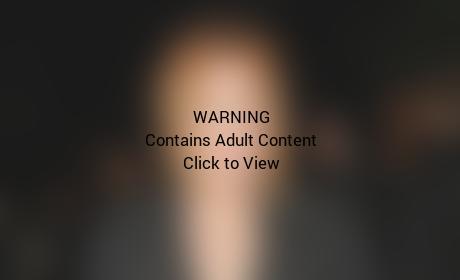Lindsay Lohan: See through Skirt Photo