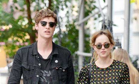 Dakota Johnson and Matthew Hitt in NYC