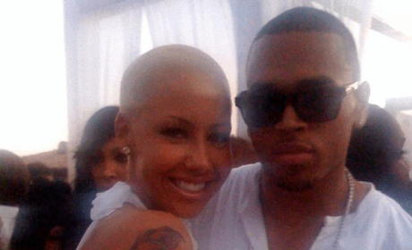 Amber Rose and Chris Brown