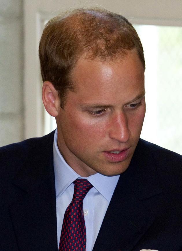 Prince William Hair