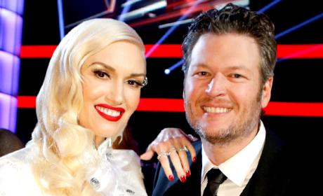 Gwen Stefani & Blake Shelton: Faking Their Romance For Ratings?
