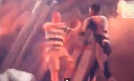 Kid Cudi Shoves Fan Off Concert Stage: Watch Now!