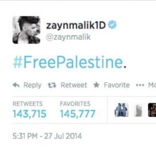 Zayn Malik Tweet