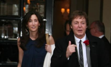 Spotted: Nancy Shevell and Paul McCartney in Paris