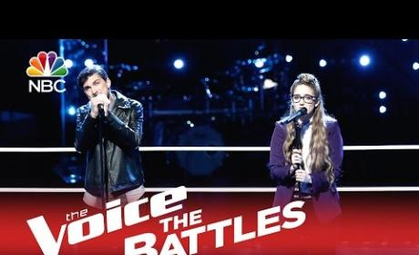 Chase Kerby vs. Korin Bukowski (The Voice Battle Round)
