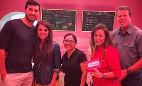 Duggar Family Frozen Yogurt Photo
