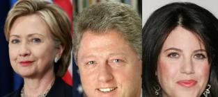 Hillary Clinton Reaction to Monica Lewinsky Scandal