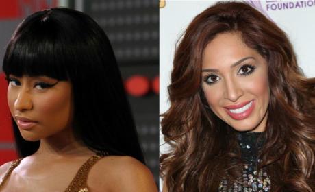 Nicki Minaj Calls Farrah Abraham a C**t in EPIC Twitter War
