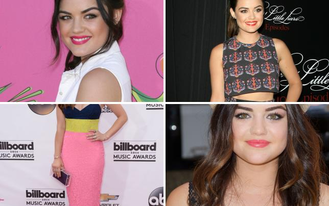 Lucy hale pose