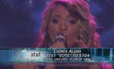 Is Lauren Alaina in Trouble?