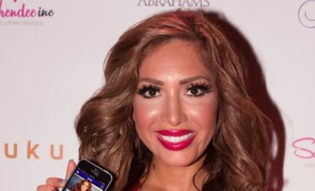 Farrah Abraham Dumps Simon Saran, Shills Dating App