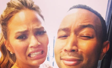 Fun with Chrissy Teigen and John Legend