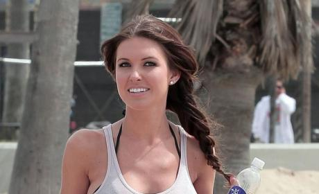 Audrina Patridge Still Dating That Loser Justin-Bobby