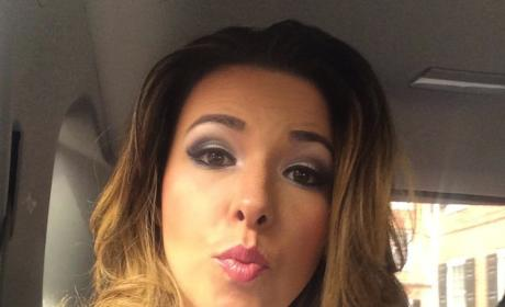 Danica Dillon Puckers Up