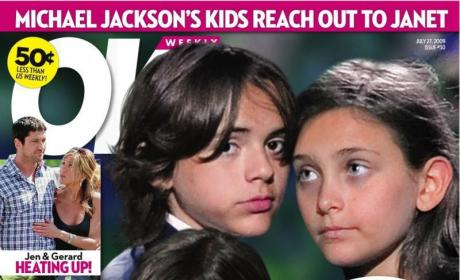 Crazy Michael Jackson Rumor of the Day: Paris, Prince and Blanket Want Janet Jackson to Raise Them