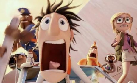 Cloudy With a Chance of Meatballs 2 Trailer: A Sardine-Eating Cucumber?
