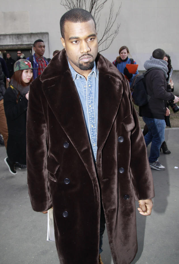 Kanye West Looks Sad