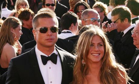 "Brad Pitt Praises Jennifer Aniston, Clarifies ""Pretend Marriage"" Comments"