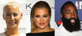 Khloe Kardashian-Amber Rose Feud: Fueled By James Harden Love Triangle?!