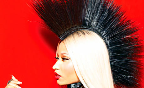 Nicki Minaj in Marie Claire