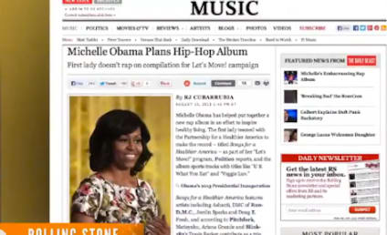 Michelle Obama Hip-Hop Album to Promote Healthy Eating, Exercise