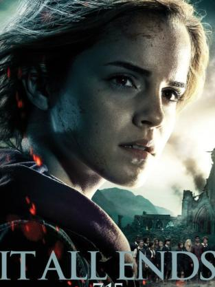 New Harry Potter and the Deathly Hallows Poster
