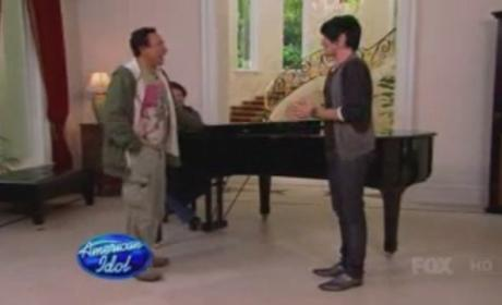 American Idol-Off: Adam Lambert vs. Paul McDonald!