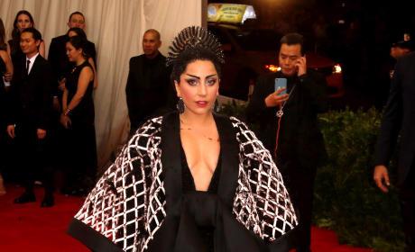 Lady Gaga at MET Gala