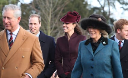 Kate Middleton Shines in Magenta on Christmas