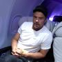 Josh Duhamel Attends Virgin America's Denver Service Launch