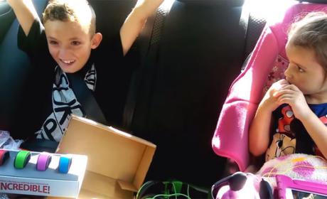 Boy Learns He's Going to Disney World, Cries Tears of Major Joy