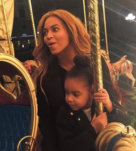 Beyonce and blue ivy carousel ballin