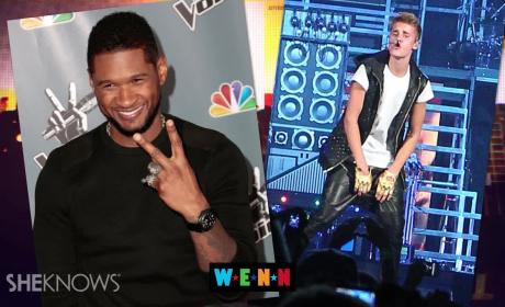 Usher Breaks Justin Bieber Silence, Stands Strongly by Protege
