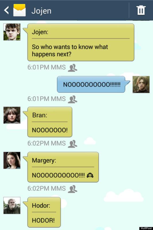 Game of Thrones Text: Jojen