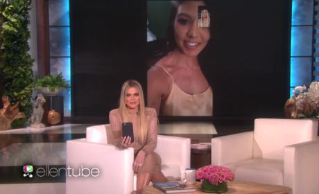 Khloe Kardashian Hosts Ellen, Reveals Family Secrets