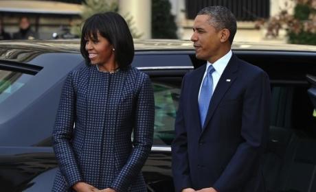 Michelle Obama Inauguration Photo