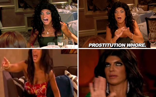 Teresa giudice table flipping