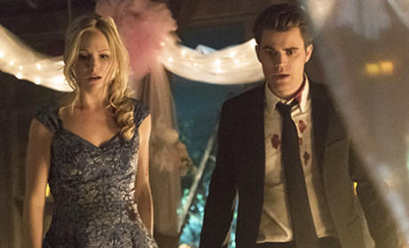 Stefan and Caroline on Season Finale