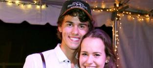 John Luke Robertson and Mary Kate McEacharn: Married!