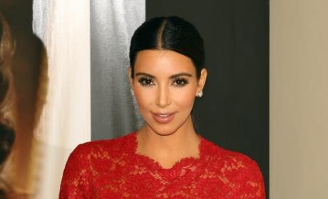 Kim Kardashian in Lace
