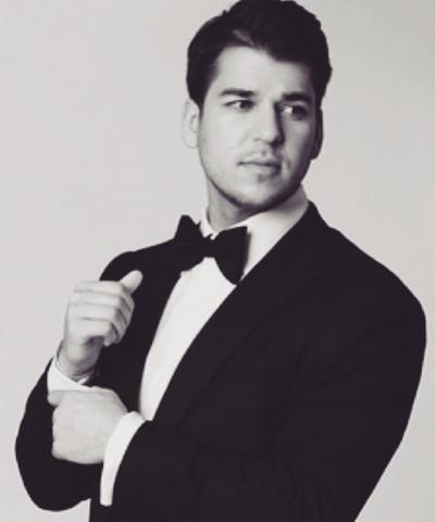 Rob Kardashian in a Tux
