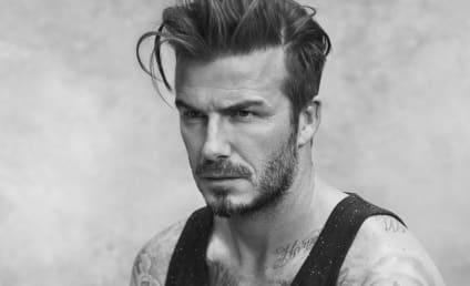 David Beckham Photos: Under Here!