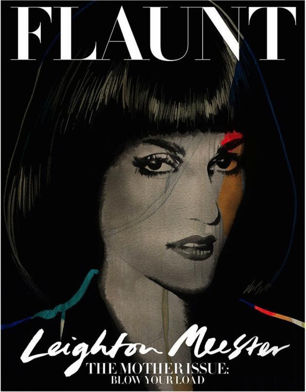 Leighton Meester, Flaunt
