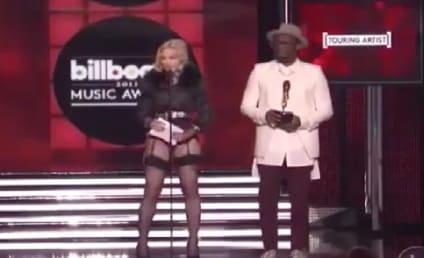 Madonna Wins Top Touring Artist, Loses Pants at Billboard Music Awards