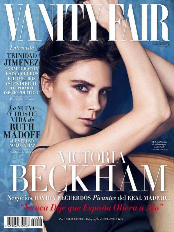 Victoria Beckham in Vanity Fair Spain