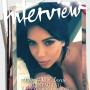 Kim Kardashian Writhes in Bed for Interview Magazine