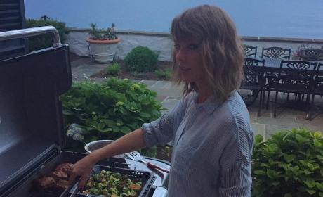 Calvin Harris Marvels Over Taylor Swift: She Cooks, Too!