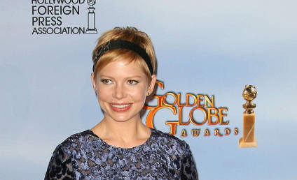 Golden Globe Fashion Face-Off: Michelle Williams vs. Heidi Klum