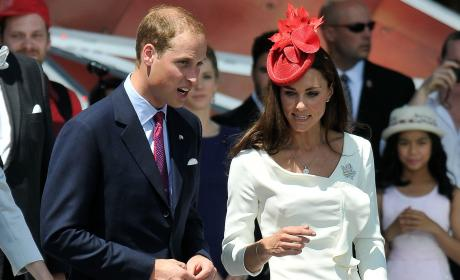 Prince William & Kate Middleton Fan Mail: Off the Hook!