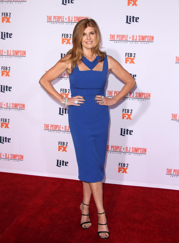 Connie Britton: 'American Crime Story - The People V. O.J. Simpson' Premiere